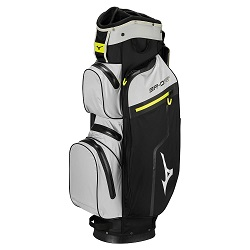 Mizuno BR-DRI Waterproof Golfbag (sort/grå/lime)