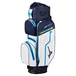 Mizuno BR-DRI Waterproof Golfbag (navy/hvid)