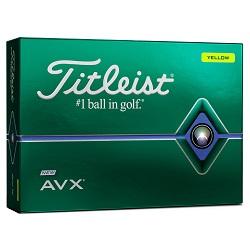 Titleist AVX Gule Golfbolde