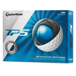 TaylorMade TP5 Golfbolde 2019