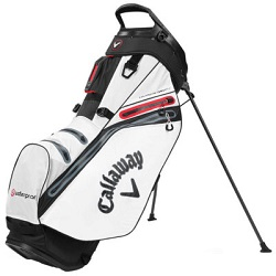 Callaway Hyper Dry 14 Stand Bag (hvid/sort/rød)