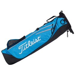 Titleist Premium Carry Bag (sort/blå/sølv)