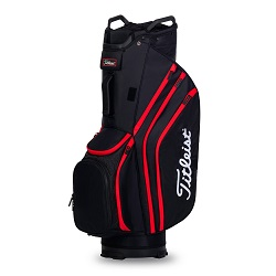 Titleist Cart 14 Lightweight14 Vognbag 2020 (sort/sort/rød)
