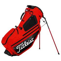 Titleist Hybrid 5 Stand Bag (rød/sort)