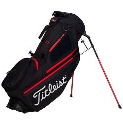Titleist Hybrid 5 Stand Bag (sort/rød)