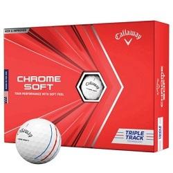Callaway Chrome Soft Triple Track Golfbolde