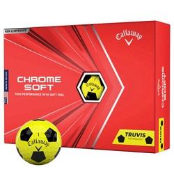 Callaway Chrome Soft Truvis Golfbolde Gul