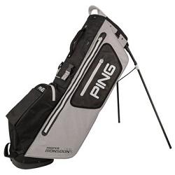 Ping Hoofer Monsoon Waterproof Stand Bag (gråsort)